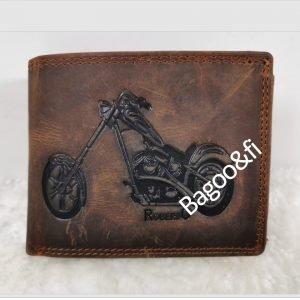 biker leather Wallet